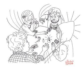 Geistesblitz Ghost Blitz Original UNBORED Games page 17 Illustration by Mister Reusch