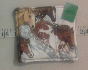 Coaster, Horses in the Snow 234487