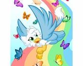 Skyes Butterflies Art Pri...