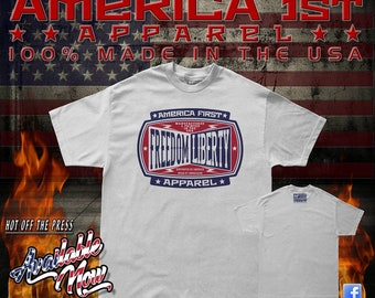 America First Apparel Made In The USA Tee