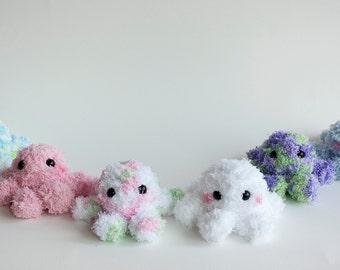 Mini Crochet Octopus Doll