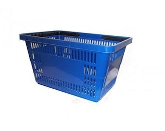 Jumbo Blue Shopping Basket