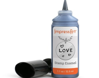 Stamp Enamel ImpressArt for Hand Stamping Jewelry and Leather - AA001