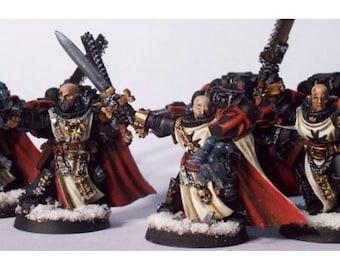 Warhammer Black Templars Sword Brethren Squad wargame