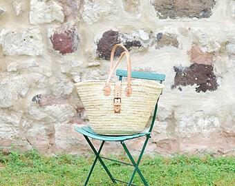 French Market Basket 'Lilac'