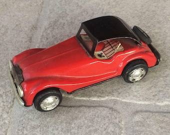 Antique Friction Tin Toy Car Made In Japan Vintage tin toy car friction tin toy car old toy car of 60s