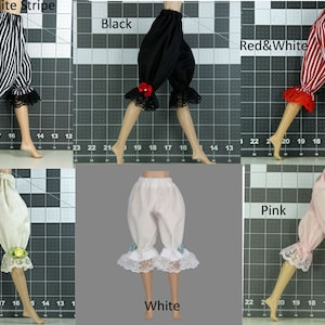 """Doll Bloomers for Wilde Imagination 16"""" Ellowyne Prudence Lizette Miette - Pantaloons - Underwear - Doll Clothes"""