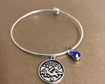 Virgo Zodiac Charm Bracelet