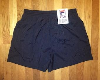 vintage FILA swim trunks mens size XXL deadstock NWT 90s