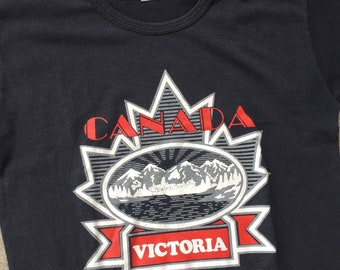 1980 Victoria Canada Graphic T-shirt