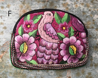 MEXICAN POUCH,mexican bag, coin purse, cosmetic bag