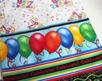 Happy Birthday Celebrate Table Runner