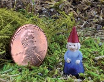My Fairy Gardens  Mini - Micro Mini Gnome Lady - Miniature Supplies Accessories Dollhouse