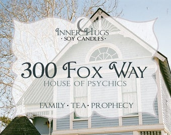 SALE - 300 Fox way - raven cycle inspired bookish candle