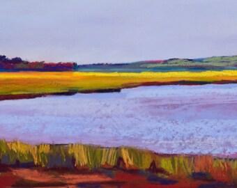 Maine Seascape Scarborough Marsh 23