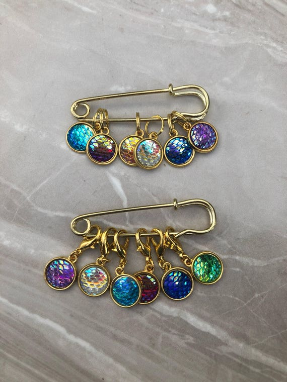 Mermaid Crochet Stitch Markers