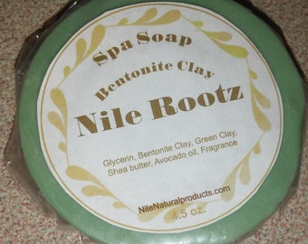 Nile Rootz  Bentonite Clay Spa Soap