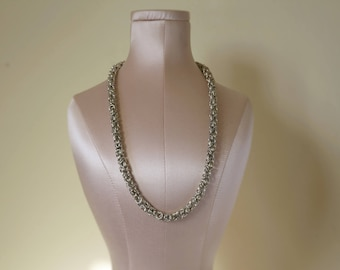 Byzantine chainmaille necklaces