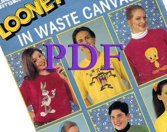 PDF -Looney Toons in Waste Canvas, 1994