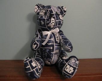 Star Wars- Patch- Bear-stuffed bear novelty bear souvenir bear handmade bear custom bear teddy bear
