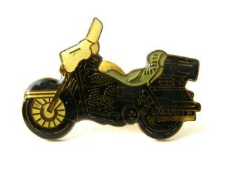 Vintage Harley Davidson Morotcycle Pin, Vintage Enamel Pin, Biker Pin, Bike Pin, Motorcycle Tie Tack