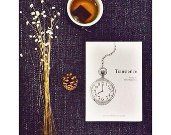 Transience — a poetry collection by Timothy Joshua and illustrations by Desiree Gabriella.