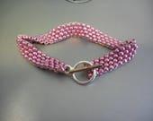 Metallic Pink Bracelet...