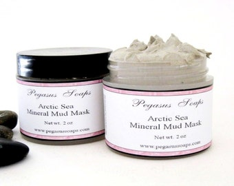 Detoxifying Arctic Mineral Facial Mud 2 oz Jar