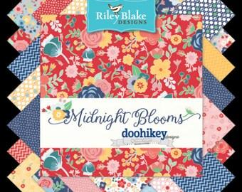 Midnight Fat Quarter Bundle by Shari butler of Doohikey Designs (FQ-6520-18)