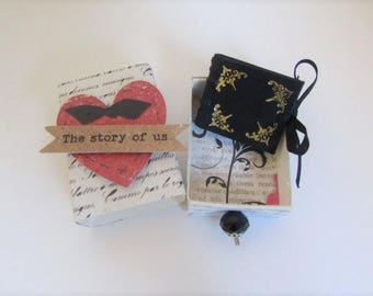 """the story of us"" love message in box Matchbox (history)"
