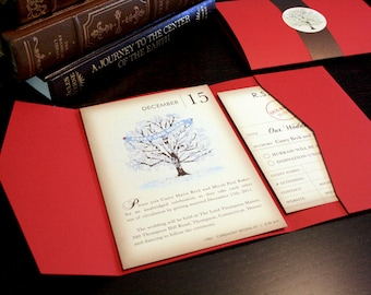 Reserved for Rebecca Nothstine, Balance of Winter Book Invitations Envelopes