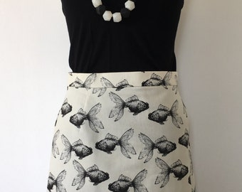 Goldfish A-Line Skirt