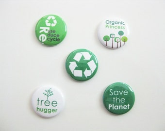 Eco-Friendly, Environmental, Green, Recycle Magnet