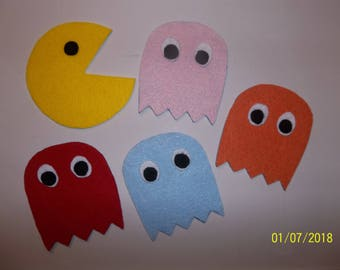 Pac Man & Ghosts Novelty Coasters