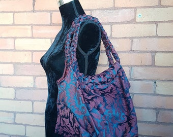 Braided Handle Tote