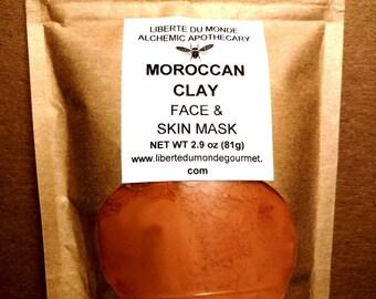 Moroccan Clay Powder Face & Skin Mask