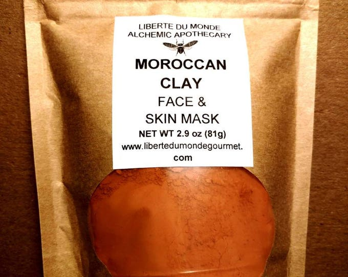 Moroccan Clay Powder Face & Skin Mask