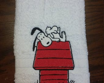 Spring Snuggles-Hand Towel