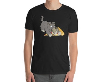 Funny Schnauzer Shirt, Get Your Own Pizza T-Shirt, Cute Schnauzer Gifts