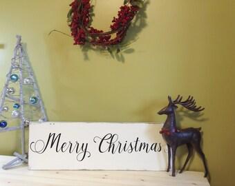 Merry Christmas, Christmas Decor, Wood Sign, Wood Signs, Wooden Sign, Christmas Gift, Farmhouse Sign, Farmhouse Decor, Country Home Wall Art