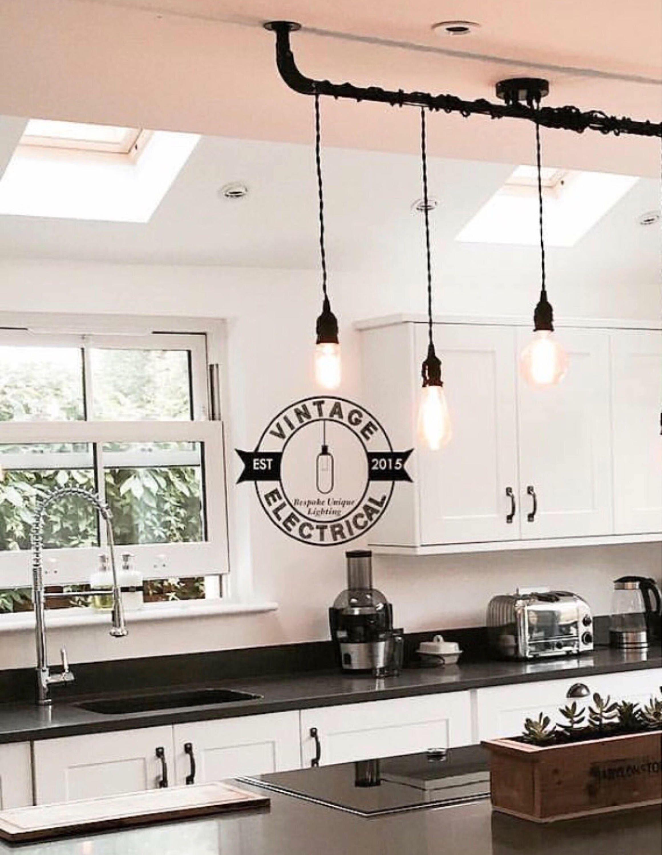 The Burnham 3 x pendant drop light hanging lights ceiling dining