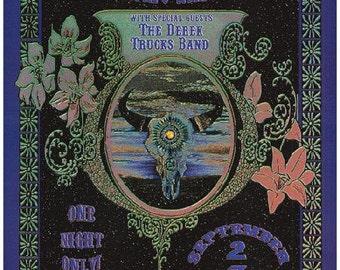 Allman Brothers Austin 2002 Original Concert Poster