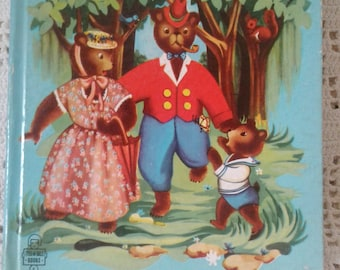 The Three Bears Tell a Tale Book by Whitman Copyright 1952