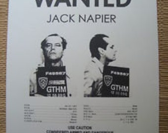 Wanted Poster Jack Napier Joker