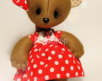 Teddy bear toy Sweet Girl