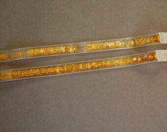 1 Pair Premade Glitter Straps