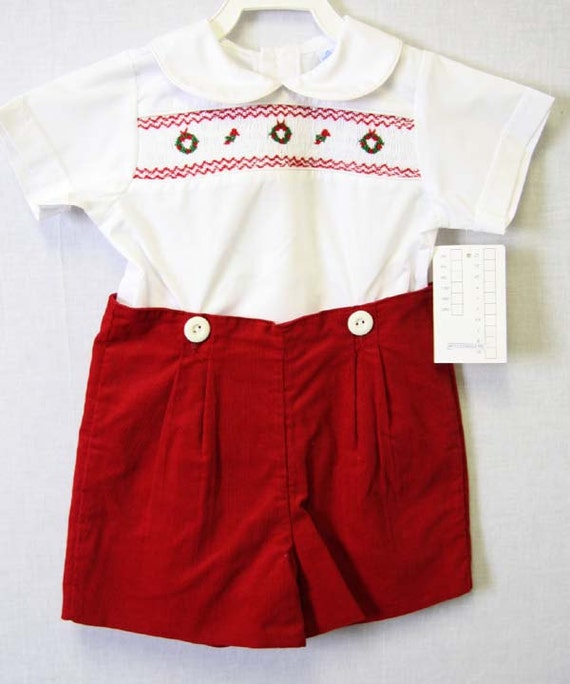 Items similar to Christmas Outfits for Boys   Baby Boy ...