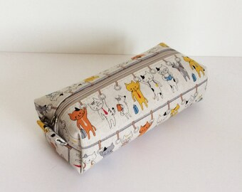 Long box pouch - Commuter train