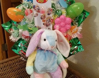 Easter Basket Easter Candy Basket Sugar Free Candy Easter Basket Sugar Free Candy Easter Bunny Easter Rabbit