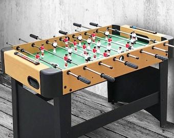 Bohemian & eclectic  Foosball Table